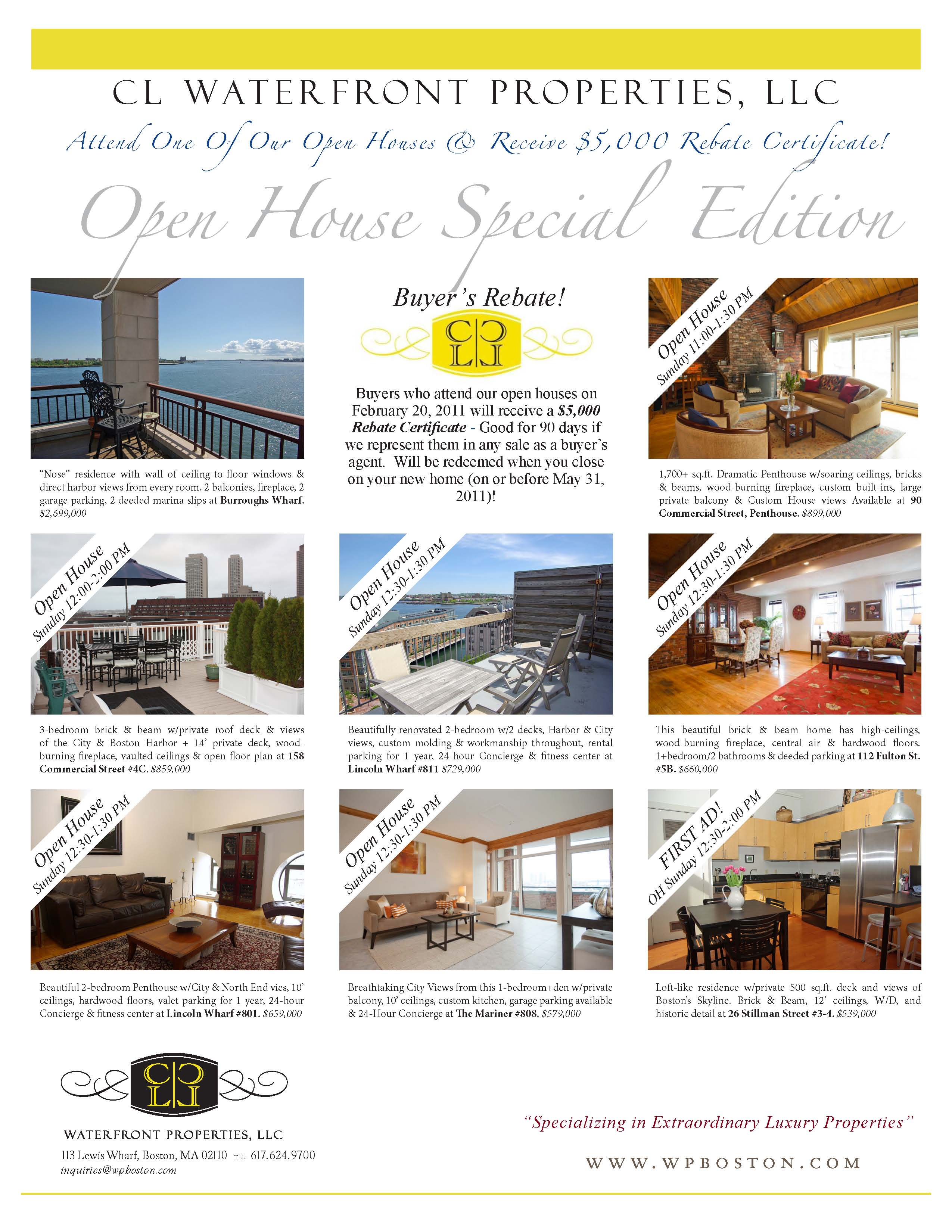 Open houses archives cl properties for Ad house