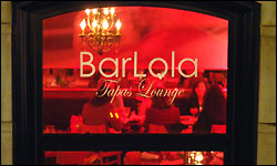Barlola in a great date spot for Valentine's Day in Boston