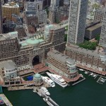 Rowes Wharf Marina on Boston's Waterfront