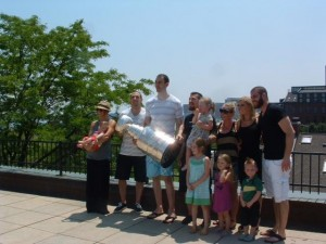 Boston Bruins Celebrate the Stanley Cup with Boston Waterfront Neighbors