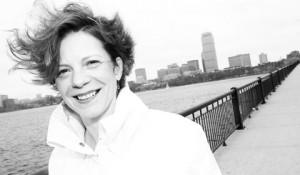 Chef Jody Adams on the Boston Waterfront. Photo by Michael Diskin.