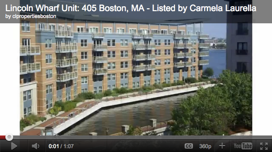 Luxury Apartment on Boston Waterfront at the Lincoln Wharf