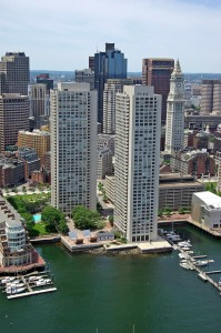 Harbor Towers Luxury Waterfront condos in Boston