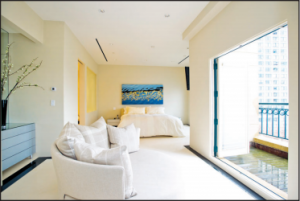 20 Rowes Wharf Penthouse 7 Master Suite