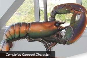 Custom Carousel On The Rose Kennedy Greenway - Lobster