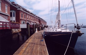 Union Wharf Deck Photo