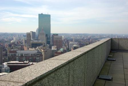Deck View from Boston Ritz Carlton Penthouse