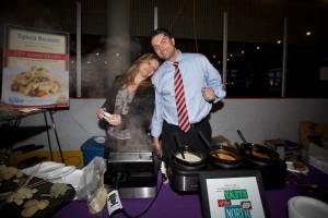 Gigia and Antonio from Sysco Boston