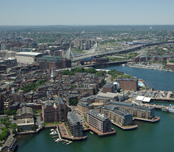 Boston's waterfront neighborhood